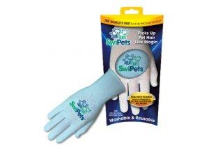 Elektrostatická rukavice SwiPets modrá 1ks