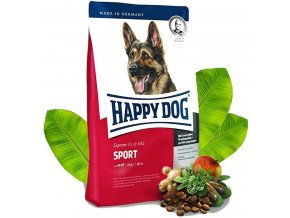 HAPPY DOG Supreme Adult Sport 15 kg  + CASHBACK 40,- Kč