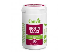 CANVIT Biotin Maxi pro psy tbl 500g