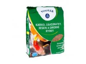 Krmivo pro ryby KARASI, ZÁVOJNATKY, JESENI a drobné rybky 0,5 kg