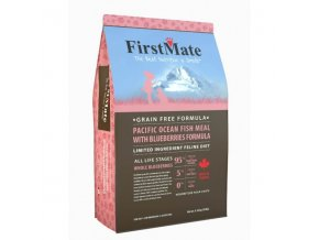 FirstMate Pacific Ocean Fish with Blueberries Cat 1,8 kg
