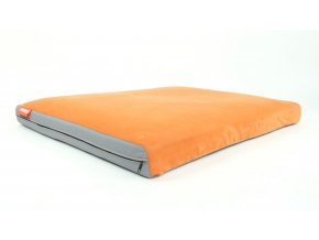 Matrace Aminela - 100x70x10cm half and half (šedá/oranžová)