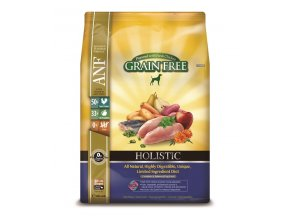 ANF Canine Holistic Grain Free Chicken 10 kg  + 2 kg Zdarma !