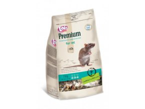 LOLO PREMIUM krmivo pro potkany 750g