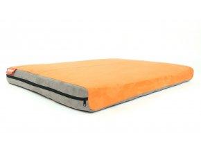 Matrace Aminela - 100x70x10cm Full Comfort (šedá/oranžová)