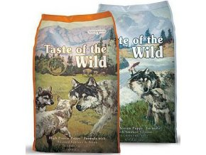 TASTE OF THE WILD High Prairie Puppy 13 kg + TASTE OF THE WILD Pacific Stream Puppy 13 kg