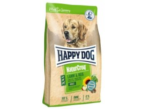HAPPY DOG NATUR-Croq Lamm & Reis 15 kg