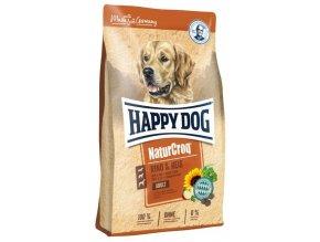HAPPY DOG NATUR-Croq Rind & Reis 15 kg  + 3 kg Zdarma