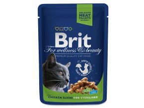 brit pouch chickenslices forsterilised