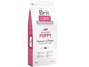 brit care gf puppy salmon