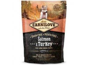 CARNILOVE Dog Salmon & Turkey for LB Puppies 1,5 kg