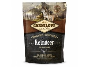 CARNILOVE Dog Reindeer for Adult 1,5 kg