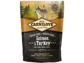 CARNILOVE Dog Salmon & Turkey for LB Adult 1,5 kg