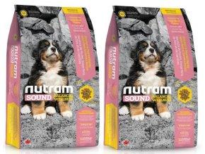 NUTRAM Sound Puppy Large Breed 2 x 13,6 kg  + POUKAZ 100,- KČ NA DALŠÍ OBJEDNÁVKU !