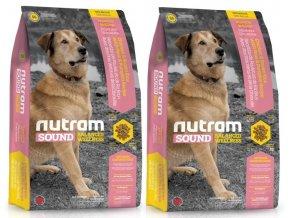 NUTRAM Sound Adult Dog 2 x 13,6 kg  + POUKAZ 100,- KČ NA DALŠÍ OBJEDNÁVKU !
