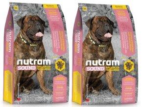 NUTRAM Sound Adult Large Breed Dog 2 x 13,6 kg  + POUKAZ 100,- KČ NA DALŠÍ OBJEDNÁVKU !