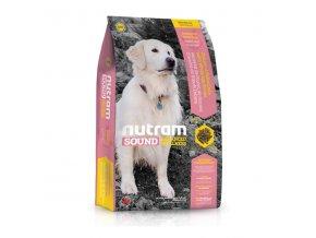 NUTRAM Sound Senior Dog 2 x 13,6 kg  + POUKAZ 100,- KČ NA DALŠÍ OBJEDNÁVKU !