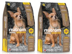 NUTRAM Total Grain Free Salmon Trout Small Breed Dog 13,6 kg