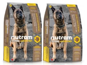 NUTRAM Total Grain Free Lamb Legumes Dog 2 x 11,34 kg
