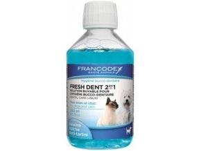 FRANCODEX Fresh Dent ústní voda pro kočky a psy 250ml