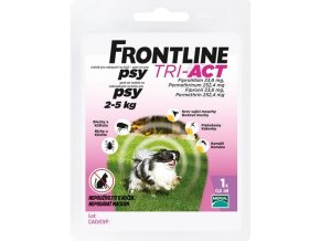 FRONTLINE TRI-ACT spot-on dog XS a.u.v. sol 1 x 0,5ml