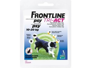 FRONTLINE TRI-ACT spot-on dog M a.u.v. sol 1 x 2ml