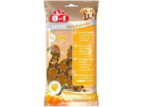 8in1 Minis Turkey & Pumpkin 100g
