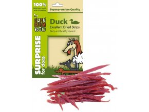 HUHUBAMBOO Duck Excellent Dried Strips 75g