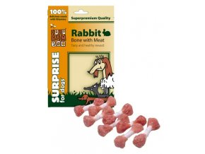 HUHUBAMBOO Rabbit Bone with Meat 75g