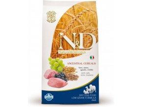 N&D Low Grain DOG Adult Mini Lamb & Blueberry 14 kg