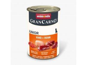 Animonda Grancarno Junior Kuře + Hovězí 400g