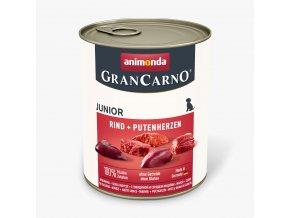 Animonda Grancarno Junior hovězí + krůtí srdce 800g