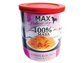 MAX deluxe Losos kousky 800g
