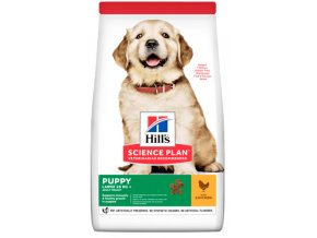 sp canine science plan puppy healthy development large breed chicken dry