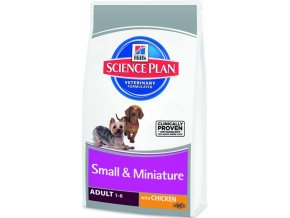 HILLS Canine Adult Small & Miniature Chicken 1,5 kg