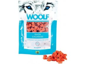 WOOLF duck chunkies 100g