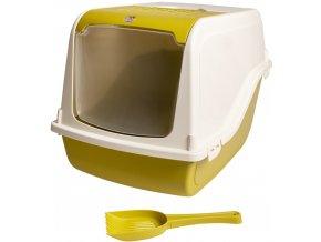WC kryté - Sybil Duvo+ zelené 58 x 38 x 38cm