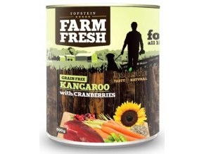 farm fresh kangaroo with cranberries 800g
