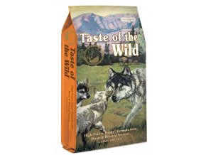 TASTE OF THE WILD High Prairie Puppy 13 kg  + CASHBACK 40,- Kč + konzerva TOTW 375g