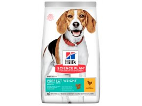 sp canine science plan adult perfect weight medium dry