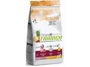 TRAINER FITNESS Adult M/M No Gluten Lamb Rice 3 kg