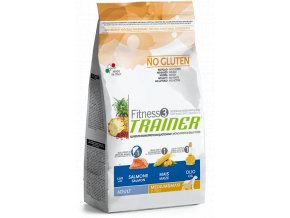 TRAINER FITNESS Adult M/M No Gluten Salmon Maize 12,5 kg