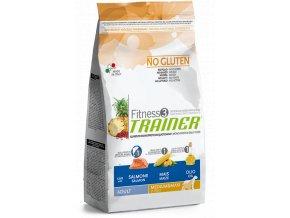 TRAINER FITNESS Adult M/M No Gluten Salmon Maize 12,5 kg