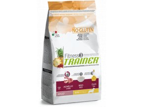 TRAINER FITNESS Adult Mini No Gluten Lamb Rice 7,5 kg