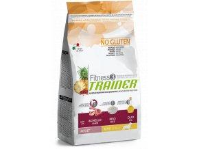 TRAINER FITNESS Adult Mini No Gluten Lamb Rice 7,5 kg