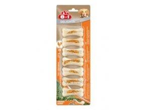 8in1 Kost žvýkací Delights Strong XS 7ks