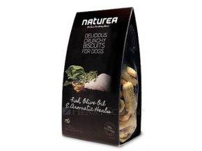 NATUREA GF sušenky - ryby, olivový olej, bylinky 230g