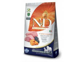 ND Grain Free Pumpkin@lamb adult medium maxi
