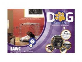 Klec do auta Dog Residence 76x53x61cm SAVIC