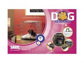 Klec do auta Dog Residence 91x61x71cm SAVIC